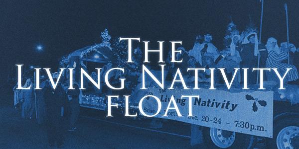 Living Nativity Float